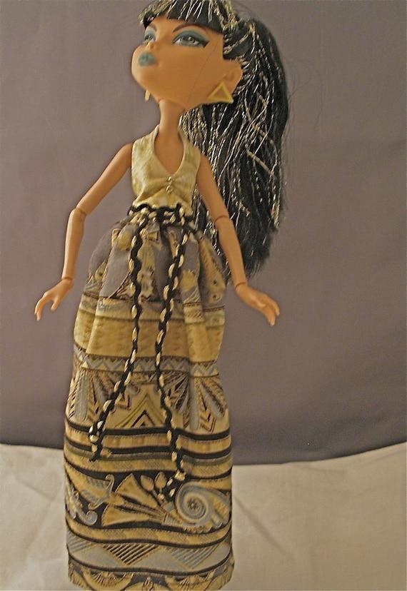 Monster High Doll Dress for Cleo