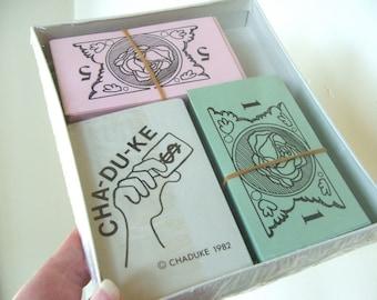 Vintage 1982 CHADUKE Card Game