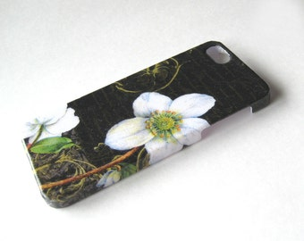 Night White Flower iPhone 3, 4/4S, 5/5S/SE, 5C, 6 or iPod Touch Case - Back Cover