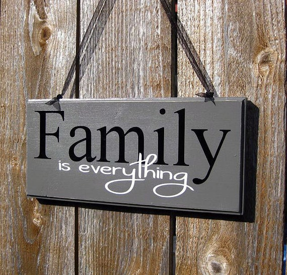 Items Similar To Family Wood Sign Grey Black And White Home Decorators Catalog Best Ideas of Home Decor and Design [homedecoratorscatalog.us]