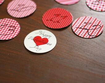 Valentine Countdown Magnet Set