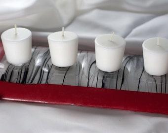 Candle Bridge Red & Black