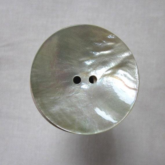 Medium Large Natural Shell Button