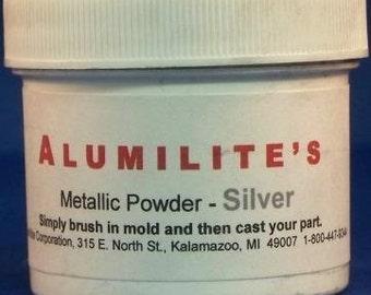 Alumilite Silver Powder - resin jewelry making