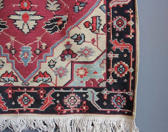 Authentic Handwoven Colorful Rug 3 ft x 5 ft