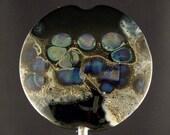 Summer Moonscape, Lentil Lampwork Focal by Linda -tt- SRA