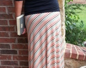 Instant Download Greenstyle Amy Maxi Skirt EASY Sewing Pattern for Women's Sizes XS to XL with Chevron Option