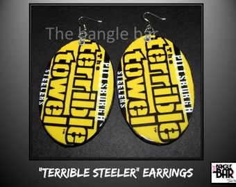 Terrible Steeler Earrings