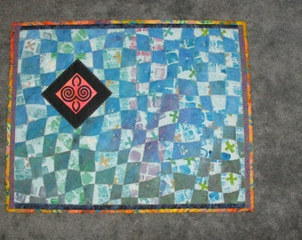 Quilted Wall Hanging Woven Wonder Number Two