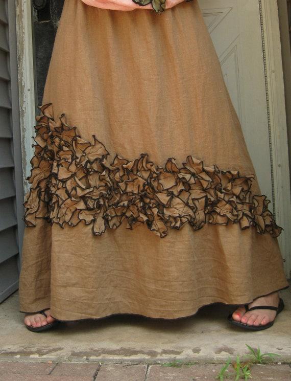 CUSTOM ORDER shellhunter365 Mini Petals Long Skirt