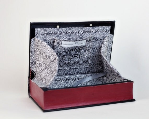 Book Clutch - Book Purse - Jane Eyre