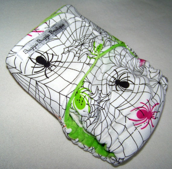 Webslinger One Size Fitted Cloth Diaper