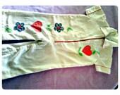 Vintage jumpsuit w/patchwork 2t