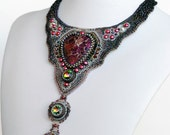 The Embroidery Necklace Star Dust