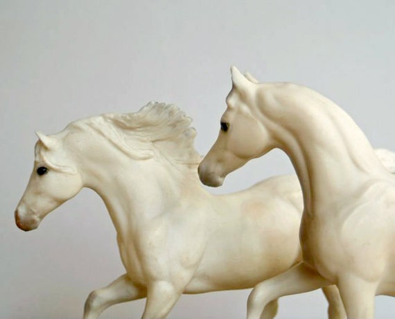 Vintage Breyer Andalusian Stallion and Arabian Mare