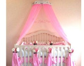 Bed Canopy Crown, shabby chic, country french 130 dollars