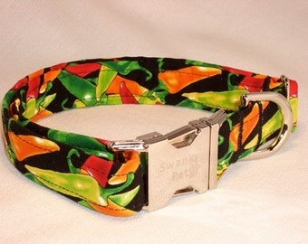 Chili Pepper Collar by Swank Pet