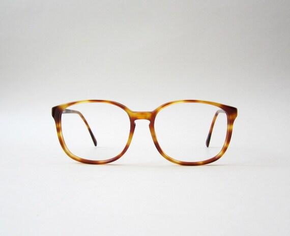 Eyeglasses Frames Wayfarer : Vintage Amber Wayfarer Eyeglasses Frames