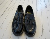 Dr. Martens Leather Tassel Loafers 8.5