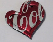 Eco Friendly Jewelry Pop Can Necklace Coca Cola Coke Heart