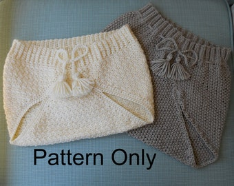 1950 Knit and Crocheted Diaper Covers Patterns