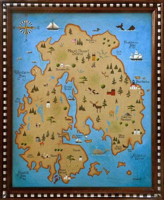 Desert Escape Island Map