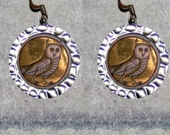 Aberdeen Bestiary OWL Earrings
