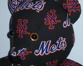 Teddy Bear Mets New York Boys of Summer MLB Baseball Sports Team Mascot