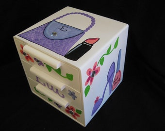 jewelry box bow holder purse and shoe diva design