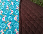 Extra Long Changing Pad Sweet Birds