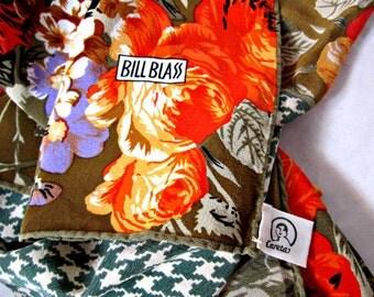Silk Scarf Bill Blass Silk Scarf 1980s Silk Scarf.