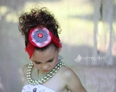 Game Day Girl Team Colors HAIRCLIP