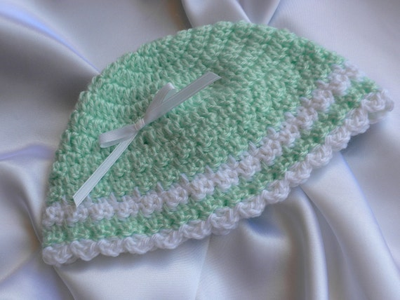 Crochet Hat Pattern For 8 Month Old : Crocheted Baby Hat Six Month Old Baby Hat Baby Girl Crochet