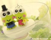 frog  Wedding Cake Topper-love frog cake topper------k781