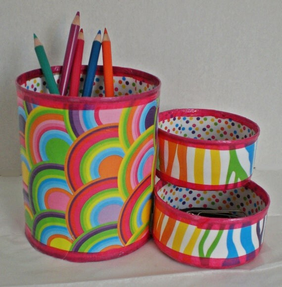 how to make a pencil holder using recycled materials