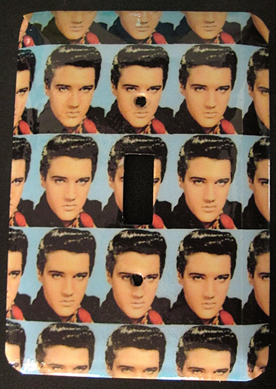 Young Elvis Switchplate