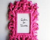 Custom Listing for Eliana All4Ever. Hand Painted Handbag