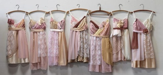 Individual Final Payments for Nina Rogers' Custom Bridesmaids Dresses
