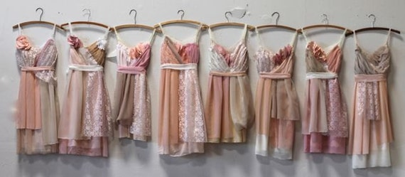 Individual Final Payments for Roberta Van Norman's Custom Bridesmaids Dresses
