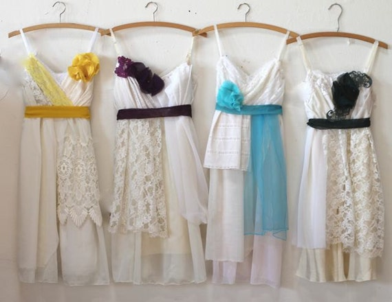 Individual Final Payments for Allison Shaw's Custom Bridesmaids Dresses