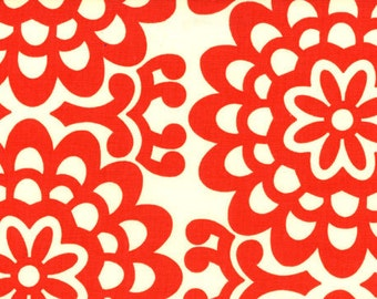Amy Butler fabric | Lotus Wall Flower Cherry | Quilting Cotton fabric