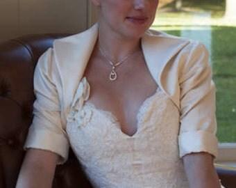 Diana Bridal Bolero Jacket