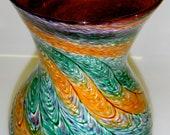 Powder Twist Flower Vase