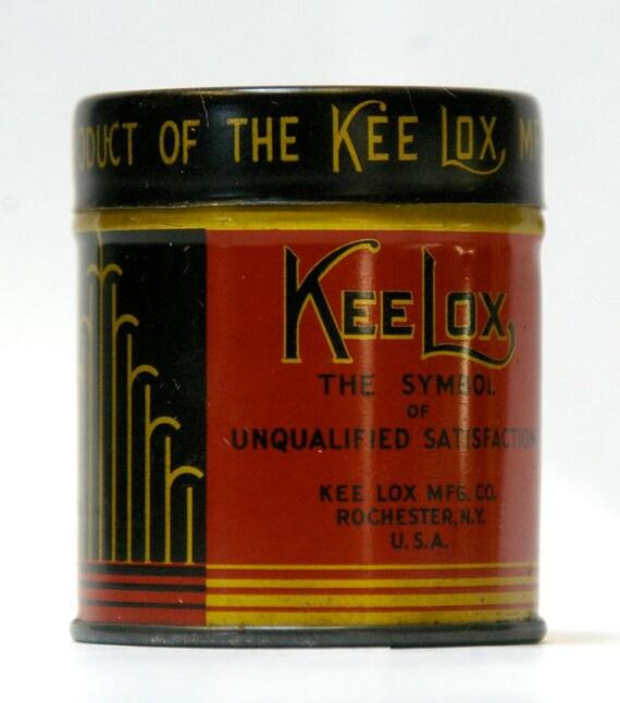 Sale Vintage Keelox Typewriter Ribbon Tin