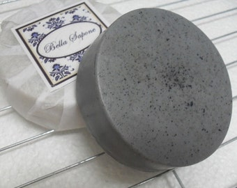 VETIVER  Clay Soap  Shave Puck