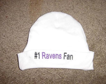 Baltimore Ravens Football Baby Infant Newborn Hat Beanie  Hat Cap