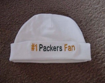 Green Bay Packers  Football Baby Infant Newborn Hat Beanie Hat Cap