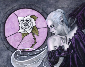 The White Rose 8.5 x 11 print