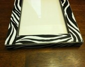 Zebra Print 5 x 7 Photo Frame