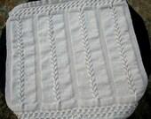 Knitting Pattern: Lilly's Blanket. Baby Blanket.